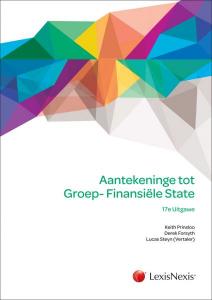 Aantekeninge tot Groep-Finansiële State