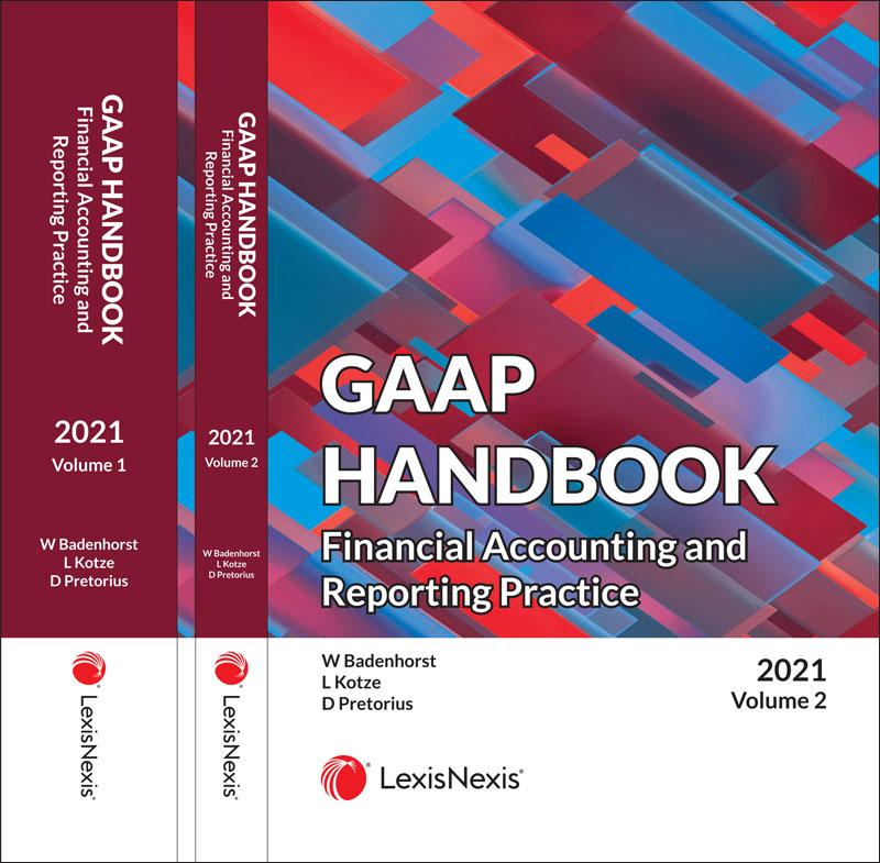 GAAP Handbook 2021 Volume 1 & 2